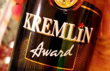 Kremlin Award Vodka – From Up High